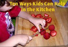 Ten Ways Kids Can Help in the Kitchen