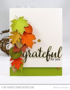 Grateful for You by Bar - Cards and Paper Crafts at Splitcoaststampers