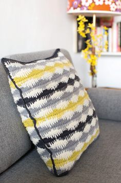 [Preview] Spike Cushion | Inside Crochet | Inside Crochet