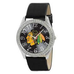 Chicago Blackhawks NHL Ladies Glitz Series Watch