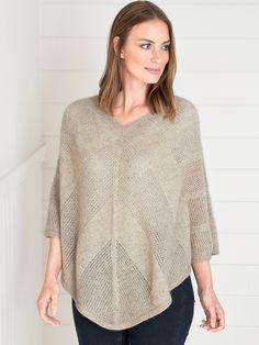 Sydney Poncho Sydney, Knitwear, Pullover, Luxury, Lady, Sweaters, Fashion, Moda, Tricot