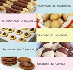 PANELATERAPIA - Blog de Culinária, Gastronomia e Receitas: Top 5 Biscoitos