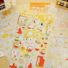 2 unids/lote lindo Sumikko Gurashi etiqueta engomada de papel diy decoración pegatina para el álbum scrapbooking kawaii papelería post it(China (Mainland))