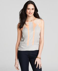 Cool; a-throw-on-with -most-anything shirt that isn't sloppy or boring.  Yay.