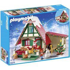 Playmobil 5976 Bij de Kerstman thuis