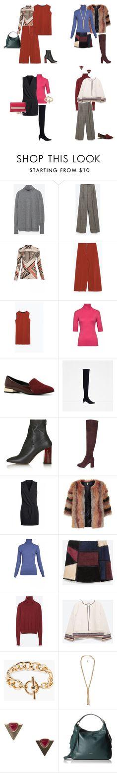 """Polo neck looks"" by olgazakharieva on Polyvore featuring мода, Zara, ALDO, Topshop, MANGO и Furla"