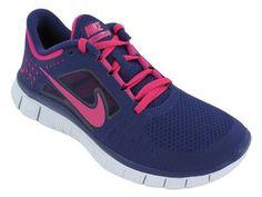 Nike Free Run+3 Womens Running Shoes 510643-401 « Clothing Impulse