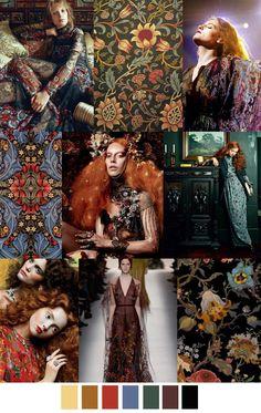 sources: visualoptimism.blogspot.com, backgroundview.blogspot.com, pinterest.com (vis Sarah Minogue), tapestry-kits.com, pinterest.com (via Lipo :)), cubiclerefugee.tumblr.com, eyeshadowlipstick.com, vogue.com (Valentino), houseofhackney.com