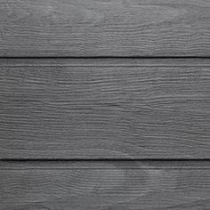 JB - possible garage siding TBD, Maibec Ocean spray silver Grey Siding, Exterior Siding, Home Hardware, Building Design, New Homes, Garage, Cottage, Ocean, House Renovations