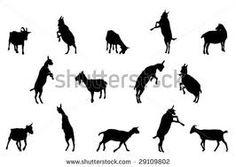 goat silhouette - Google Search