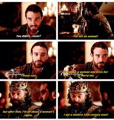King Richard everyone.