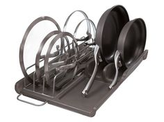 Slide Out Lid & Pan Organizer | Kitchen Cabinet Organization | Rubbermaid