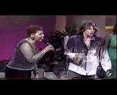 Steven   Tyler in church singing Amazing Grace!!! I saw him on Oprah and he shared how he goes to a spot in the forest and says the Lord's prayer there. Cool.
