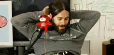 Beautiful Jared and his lovely locks!