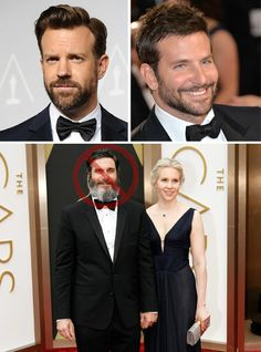Best Beards from the Oscars 2014 Red Carpet