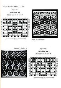 Image result for mosaic knitting barbara walker