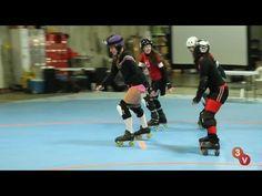 Roller Derby Hitting Drills