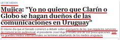 la peor amenaza de uruguay es clarín