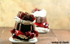 Black Forest Mini Bundt Cakes