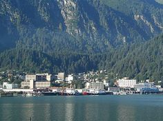 Juneau, Alaska capital can't be reached by road! For some of us that's one of the joys,