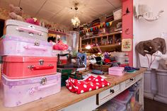 atelier couture rrose selavy Kids Store, Schneider, Boutique, Shabby, Home Appliances, Nursery, Paris, Sewing, Room