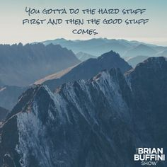Truth from Episode 009 of #TheBrianBuffiniShow: https://itunes.apple.com/podcast/id1089027054?mt=2&ls=1
