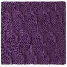 Ravelry: Gradient Lapghan Block 10 pattern by Sandi Prosser Crochet Patterns For Beginners, Knitting Patterns, Stitch Patterns, Knitting Stitches, Hand Knitting, Crochet Baby, Knit Crochet, Crotchet, Training Collar