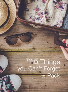 If you're traveling internationally, be sure that you don't forget to pack these 5 very important things!