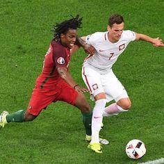 Renato #Sanches #Portogallo contro Arkadiusz #Milik #Polonia