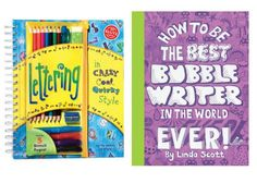 Our kids LOVE these books! Like a hybrid between a coloring book + handwriting practice sheets.