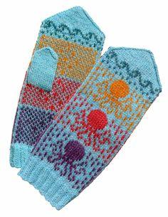 spillyjane knits: OctoMitts
