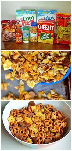 Buffalo Wing Chex Mix!!!