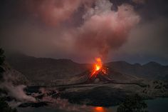 Llullaillaco Eruption