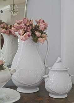 Chateau Chic - Using Dried Roses
