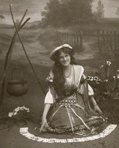 vintage fortune teller