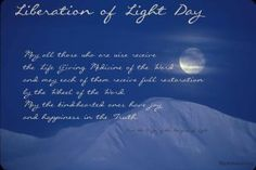Free Wallpaper: Liberation of Light Day