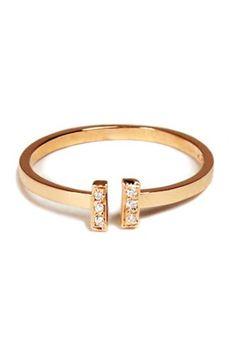 Loren Stewart Gold and diamond ring