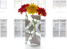 I Spy DIY: Painted vase