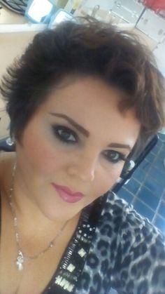 Rouss my maquillaje smoky me facina...23/12/2015