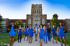 Pi Epsilon Chapter at The University of Tennessee. Zeta Phi Beta Sorority, Inc. #ZPhi #1920