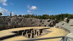 Römische Arena in der Nähe von Sevilla Sevilla, Vacation Travel, Photo Illustration