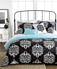 Sunset and Vines Dalton 5 Piece Comforter and Duvet Cover Sets - Apartment Bedding - Bed & Bath - Macy's