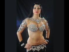 Superbhot Sensational Arabic Belly Dance Alex Delora Amazing Control Over Her