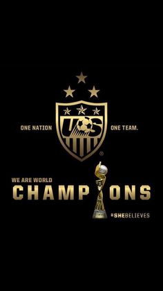 3 Time World Champions! So sad to see Wambach in her last game! Us Soccer, Play Soccer, Soccer Players, Football Soccer, Girls Soccer, World Cup Champions, Fifa Women's World Cup, Last Game, Soccer Quotes