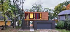 casa moderna y colorida