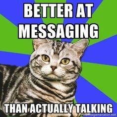 Quando você pode enviar e-mail ou mensagem de texto para a central de relacionamento de uma empresa para reclamar do serviço. | 21 coisas que os introvertidos adoram