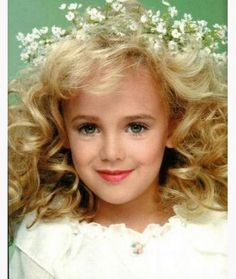 jon benet Ramsey.  Jon Benet Ramsey was a child pageant queen who was brutally murdered in her Colorado home in 1996.  Her murder brought to light the child pageant scene.  Her murder remains unsolved.
