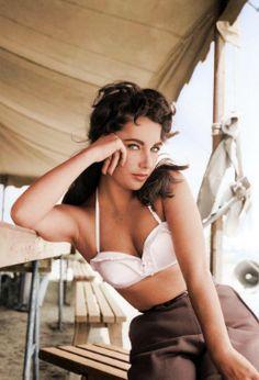 Elizabeth Taylor Perfección estética de una de las grandes del cine, por su hermosura y profesionalismo