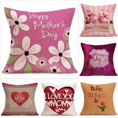 Use: Chair,Seat,Car,DecorativeStyle: PlainTechnics: WovenPattern: PrintedShape: SquareBrand Name: XrkopoModel Number: YesPattern Type: PrintMaterial: linenUse: sofa Linen Pillows, Cotton Pillow, Sofa Pillows, Cushions, Cushion Cover Designs, Happy Mom, Happy Mothers Day, Pillow Inserts
