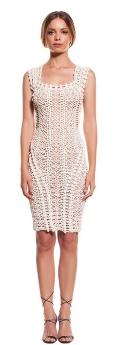 Helen Rödel crochet dress